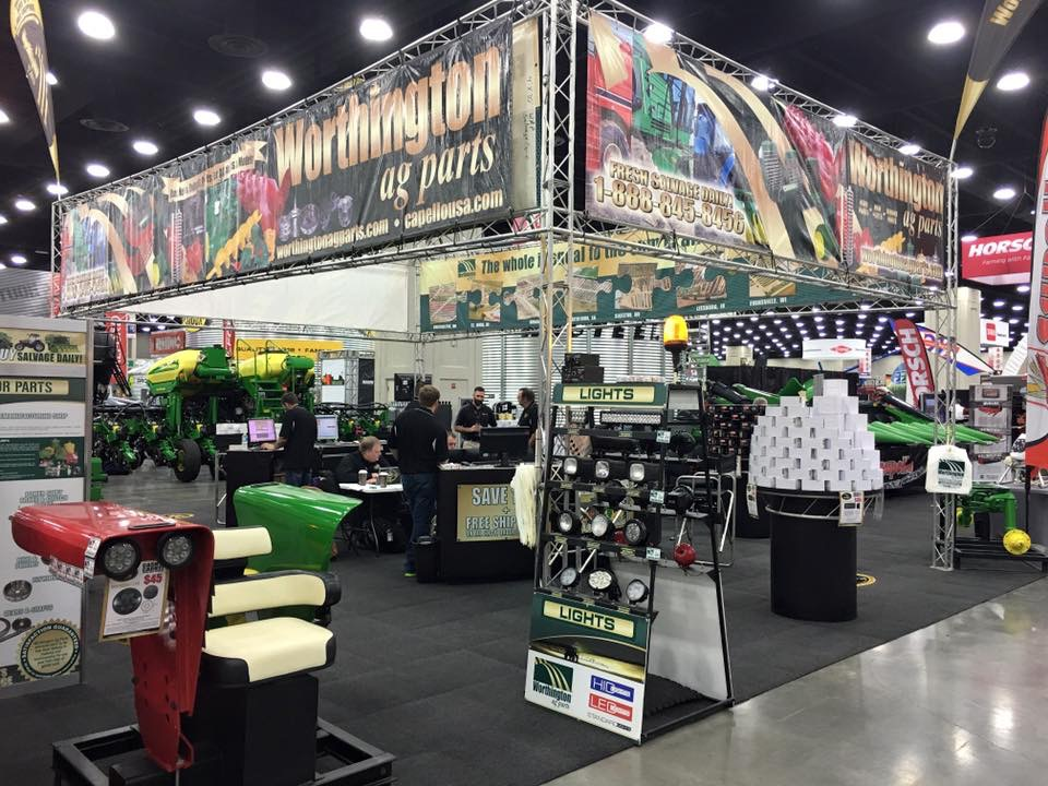 Worthington Ag Parts Booth