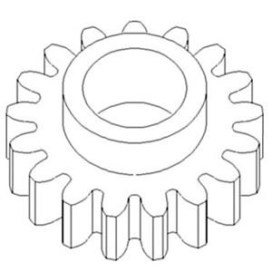 Picture of Corn Head, Gear, Idler To Fit John Deere® - NEW (Aftermarket)