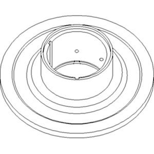 Picture of Sheave, Outer Pulley, Feeder House To Fit John Deere® - NEW (Aftermarket)