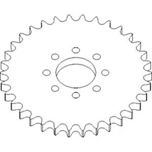 Picture of Feeder House Sprocket To Fit John Deere® - NEW (Aftermarket)