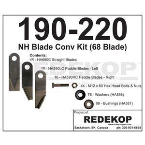 Picture of Chopper Blade Conversion Kit To Fit Ford/New Holland® - IMP