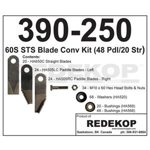Picture of Chopper Blade Kit Upgrade To Fit John Deere® - IMP