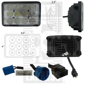 Picture of Headlight Or Light, LED To Fit International/CaseIH® - NEW (Aftermarket)